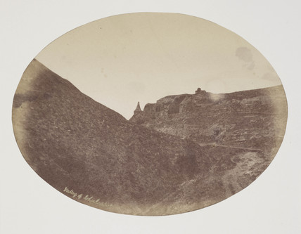 Valley of Jehosaphat, c 1849.