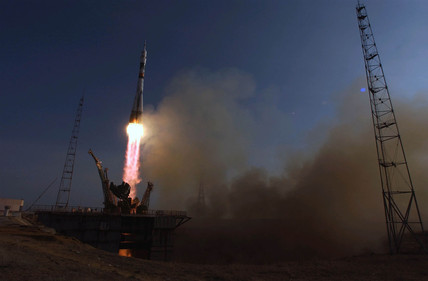 Launch of Expedition 9 to the International Space Station, April 2004.