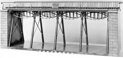 Model of Gaunless Bridge, 1824.