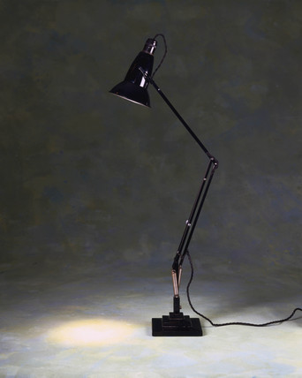 Anglepoise lamp, c 1935.