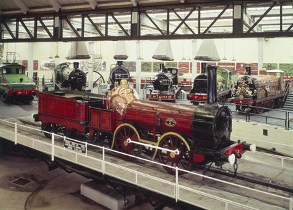 'Coppernob' 0-4-0 locomotive and tender, 18