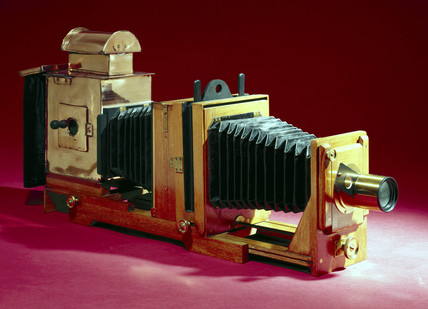 Horizontal enlarger, c 1908.
