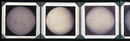 Autographs of the Sun, 1861-1863.