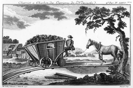 Coal wagon, Newcastle, Tyne and Wear, 1773.