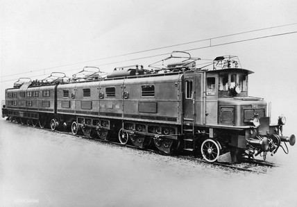 Swis Federal Railways electric locomotive, 1931.