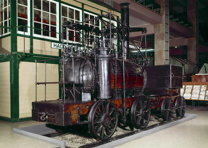 'Puffing Billy', 1813.