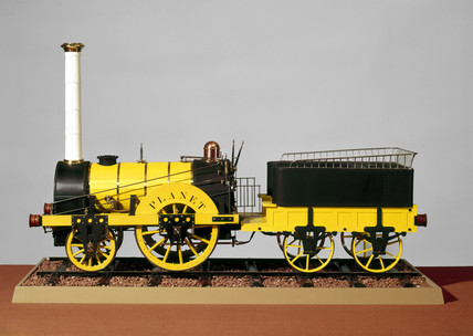 'Planet' steam locomotive, 1830.