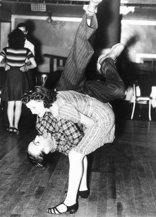 Dancing the Jitterbug, 19 April 1940.