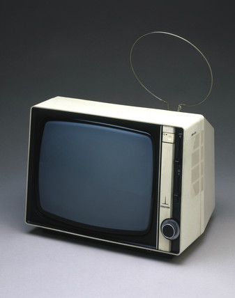 Thorn portable television receiver, model 3845, 1980.