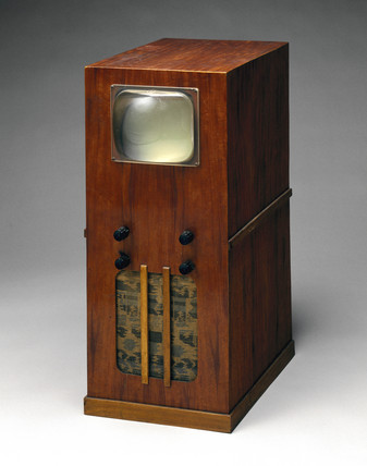 Television receiver built from 'Premier Radio' kit, 1949.