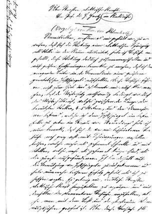 Original manuscript of Dr Heinrich Hertz, 1888.