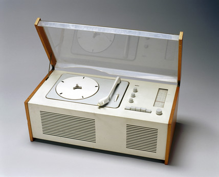 Braun table radiogram, c 1962.
