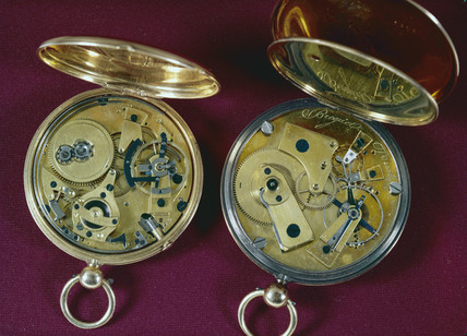 Two gold watches by Breguet, c 1818-1825.