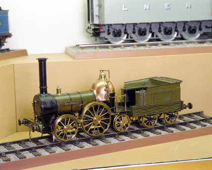 'Comet' locomotive and tender, 1846.