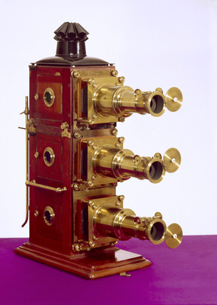 Early triunial lantern, c 1890.