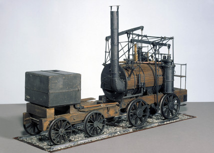 'Puffing Billy' locomotive, 1813.