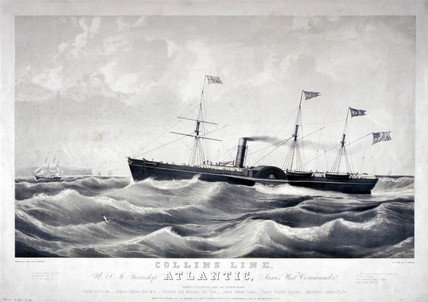 PS 'Atlantic', 1850.