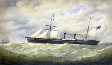 PS 'Pacific', 1854.