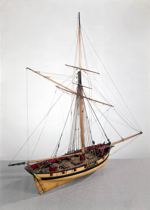 Naval Cutter C 1790 At Science And Society Picture Library