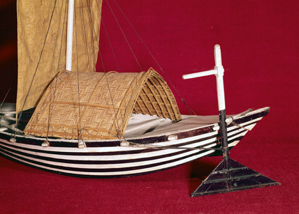 Ulak, or Bengal produce boat, late 19th century.