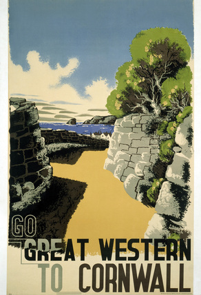 'Go Great Western to Cornwall', GWR poster, 1932.
