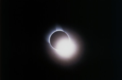 Second stage of total solar eclipse, 3 November 1994.