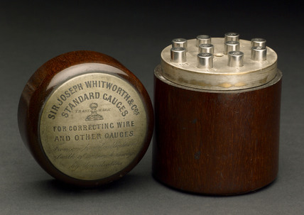 Whitworth standard gauges, 1869-1897.