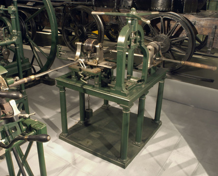 Boring machine, yard No 642, early 19th century.