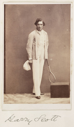 Harry Scott, c 1865