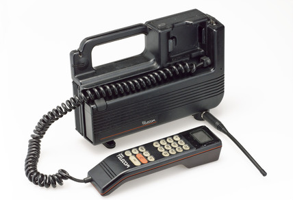 Portable telephone.