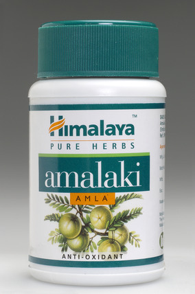 Container of Amalaki tablets, Indian, 2005.
