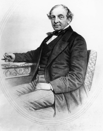 Thomas Brassey, British railway engineer and contractor, 19th century.