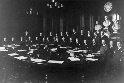 London, Midland & Scottish Railway Directors and officers, February 1931.