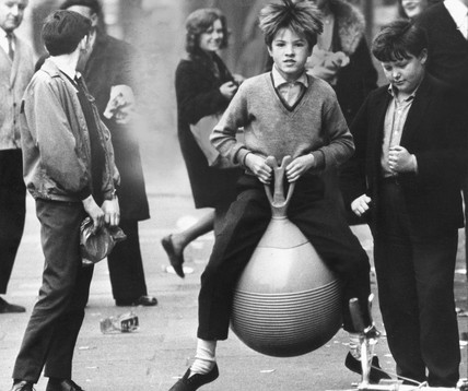 Space hopper, April 1967.