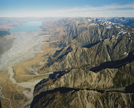 Fault line, New Zealand, 1995.