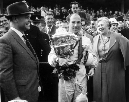 Stirling Moss English Racing Driver April 1960 At Science And Society Picture Library