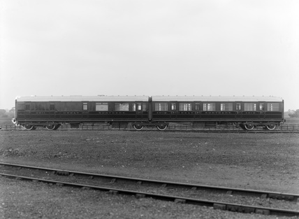 Vehicle No. 4911, Composite Twin Brake, with Engine No. 4912. England, 1919.