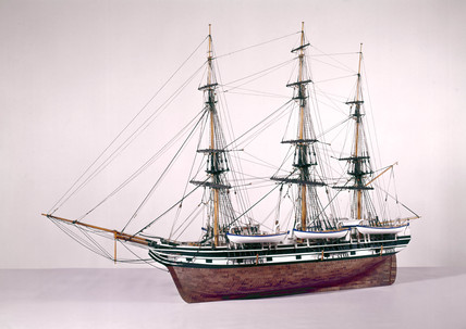 Whaling ship 'Alice Mandell', 1851.
