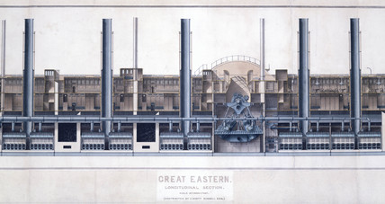 Ps 'Great Eastern', 1853.