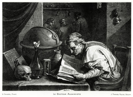 'The Alchemist Doctor', 1736-1791.