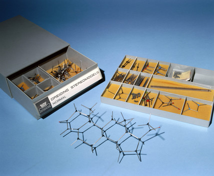 Set of Dreiding stereomodels, c 1958-1977.