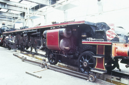 'Duches of Hamilton' steam locomotive, 193