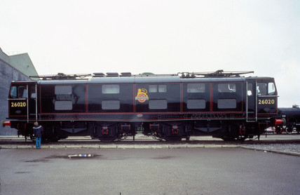 BR Electric Locomotive, Bo-Bo, no 26020, 19