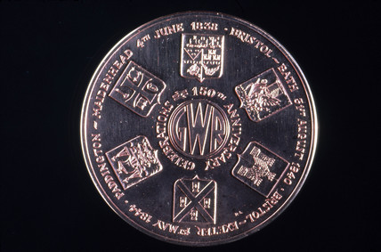 Bronze medal commemorating the 150th annive