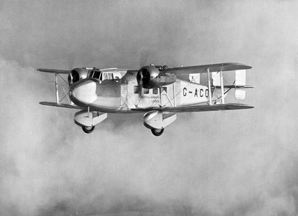Boulton Paul P.71A G-ACOY of Imperial Airwa at Science and Society ...