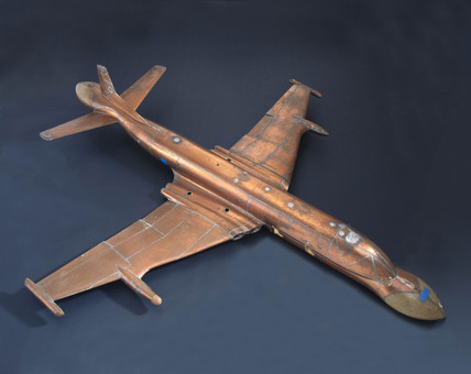 Developmental model of the Nimrod early warning aircraft, c 1970s.