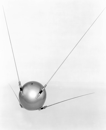 Sputnik I satellite.