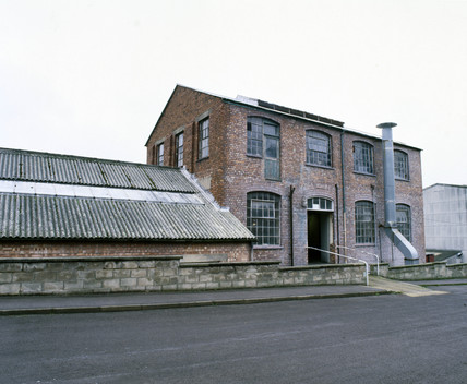 Factory producing casein plastic, Stroud, Gloucestershire, 1900.