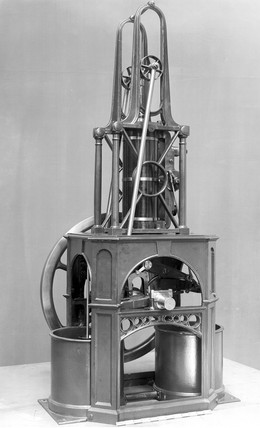 Maudslay's table engine, 1807.