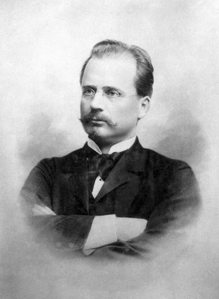 Carl de Laval, Swedish inventor, late 19th century.
